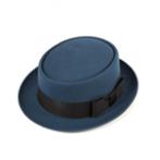 Шляпа CHRISTYS арт. PORK PIE cwf100078 (синий)